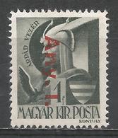 Hungary 1946. Scott #801 (M) Arpàd * - Hongrie