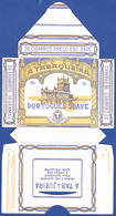 Portugal 1950 To 1960, Packet Of Cigarrettes - PORTUGUÊS SUAVE / A TABAQUEIRA, Lisboa - Empty Tobacco Boxes