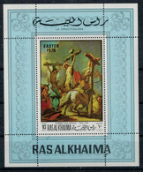 RAS  AL  KHAIMA   197O  EASTER 1970   CIAMBATTISTA  TIEPOLO  LA  CROCEFISSIONE      SHEETS    MNH** - Ajman