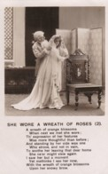 AP42 Bamforth Song Card - She Wore A Wreath Of Roses - Set Of 3 Cards - Postcards