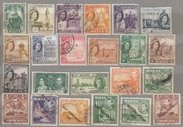 MALTA Nice Used Stamps Lot 3 Scans #24453 - Malta (...-1964)