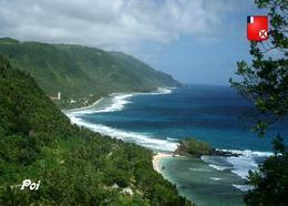 Wallis And Futuna Poi Village New Postcard - Wallis Und Futuna