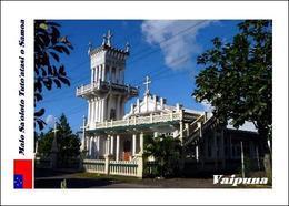 Samoa Vaipuna Church New Postcard - Samoa