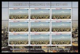 ARMENIA  -  2010 WORLD FAIR SHANGHAI    M844 - 2010 – Shanghai (China)