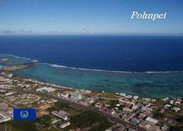Micronesia Pohnpei Aerial View New Postcard Mikronesien AK - Micronesië