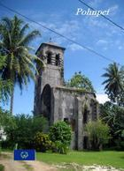 Micronesia Pohnpei Church New Postcard Mikronesien AK - Mikronesien