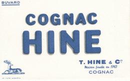 BU 1650 /  BUVARD   COGNAC HINE - Liquor & Beer