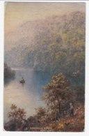 AK84 Sharpham Woods, River Dart - Wimbush, Tuck Oilette - England