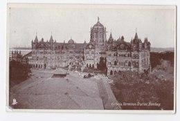 AK84 Victoria Terminus Station, Bombay - India
