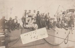 Marins Sur Un Sous-marin ?    ( Carte-photo ) - Barche
