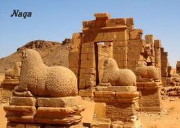 Sudan Naqa Amun Temple UNESCO New Postcard - Soedan