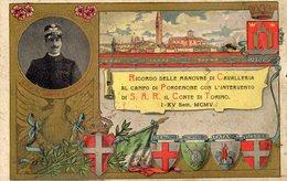 RICORDO DELLE MANOVRE DI CAVALLERIA AL CAMPO DI PORDENONE........- NON VIAGGIATA - Manoeuvres