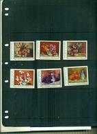 ROUMANIE TABLEAUX DES FLEURS    6 VAL  NEUFS A PARTIR DE 0.60 EUROS - 1948-.... Républiques