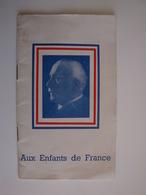 Petit Livret Sur Le Maréchal Pétain 20 Pages - Boeken