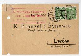 Poland Ukraine Zborow Lwow Advertisement 1932 - 1919-1939 Republic