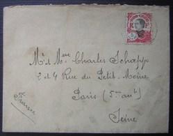 Indochine, Lettre De Saïgon Pour Paris - Storia Postale