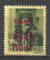 Hungary 1946. Scott #803 (M) Francis II Ràkòczy * - Hongrie