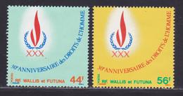WALLIS ET FUTUNA N°  224 & 225 ** MNH Neufs Sans Charnière, TB (D8780) Anniversaire Droits De L'Homme - 1978 - Wallis And Futuna