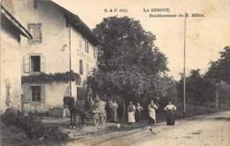 LA BERGUE (74) - Etablissement De M. Millet - Ed. Briquet Et Fils 6455. - Autres Communes