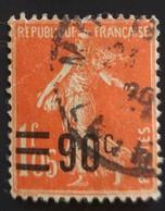 Timbres Surchargés N° 227 - Francia