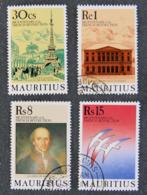 ILE MAURICE - MAURITIUS - 1989 - YT 717 à 720 - BICENTENAIRE DE LA REVOLUTION FRANCAISE - Maurice (1968-...)