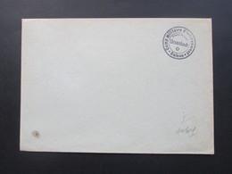 Schweiz Militärpost Blankoumschlag Stempel Camp Militaire D'internement Suisse Ursenbach / Kriegsgefangenlager POW - Briefe U. Dokumente