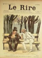 """REVUE """"LE RIRE""""-1900-318-Dessin GOSE,JEANNIOT,FAIVRE,GRANDJOUAN,FAU,ROUVEYRE - Books, Magazines, Comics"""