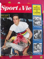 Reliure Recueil Mensuel Sport & Vie. 1958. 12 N° 20 à 31. Tour De France Gaul. Boxe Rugby Football Tennis - Sport