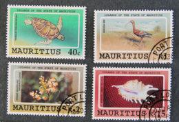 ILE MAURICE - MAURITIUS - 1991 - YT 769 à 772 - DEPENDANCES DE L ETAT MAURICIEN - Maurice (1968-...)