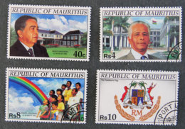 ILE MAURICE - MAURITIUS - 1992 - YT 773 à776 - PROCLAMATION DE LA REPUBLIQUE - Mauritius (1968-...)