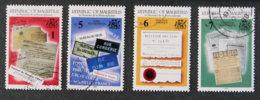 ILE MAURICE - MAURITIUS - 1993 - YT 799 à 802 - 5è SOMMET DE LA FRANCOPHONIE - Mauritius (1968-...)
