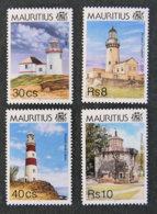 ILE MAURICE - MAURITIUS - 1995 - YT 838 à 841 ** - PHARES DE MAURICE - Maurice (1968-...)