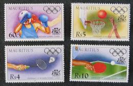 ILE MAURICE - MAURITIUS - 1996 - YT 860 à 863 ** - CENTENAIRE DE JEUX OLYMPIQUES MODERNES - Mauritius (1968-...)