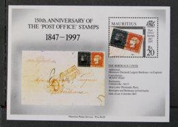 "ILE MAURICE - MAURITIUS - 1997 - YT BF 19 ** - 150è ANNIVERSAIRE DES TIMBRES ""post Office"" - Mauritius (1968-...)"