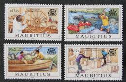 ILE MAURICE - MAURITIUS - 1997 - YT 889 à 892 ** - PETITS METIERS - Mauritius (1968-...)