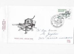 Boekdrukkunst Eerste Dagafstempeling 17-12 - 1988 - België
