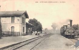 45 1605 VITRY AUX LOGES La Gare (coin Inf Droit Coupé Voir Scan) - France