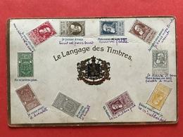 LANGAGE DES TIMBRES - Je Pense à Vous - Un Baiser - Etc - Timbres (représentations)