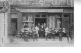 CHERBOURG   Aux Marins Français  16 Rue De L'Anglais  ( V. Menard ) - Cherbourg