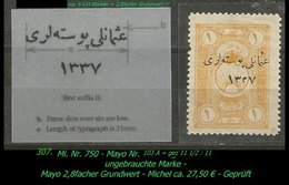 EARLY OTTOMAN SPECIALIZED FOR SPECIALIST, SEE...Mi. Nr. 750 - Mayo 103 A -R- - 1920-21 Anatolie