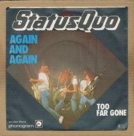 """7"""" Single, Status Quo, Again And Again - Rock"""