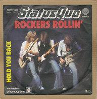 """7"""" Single, Status Quo, Rockers Rollin - Rock"""