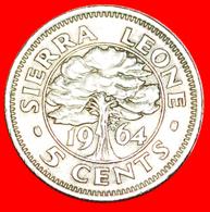 # GREAT BRITAIN: SIERRA LEONE ★ 5 CENTS 1964! LOW START ★ NO RESERVE! - Sierra Leone
