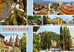 Slovenia Ljubljana / Panorama, Old Town, Monument / Unused, Uncirculated - Slovenia