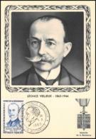 1516/ Carte Maximum (card) France N°1251 Héros De La Résistance Léonce Vieljeux - Cartes-Maximum