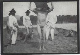CPSM Nu Masculin Non Circulé Nude Voir Scan Du Dos - Vintage Men < 1945