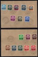 MUHLEN BEI METZ - MOULINS - MOSELLE / 1941 SERIE COMPLETE # 24 A 39 OBLITEREE SUR FRAGMENTS / COTE 35 € (ref 7900) - Alsace-Lorraine