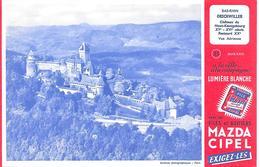 Pile MAZDA  -  Château De ORSCHWILLER - BUVARD  ( Format = 13,5cm X 21cm ) - Accumulators