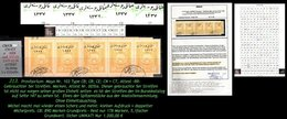 EARLY OTTOMAN SPECIALIZED FOR SPECIALIST, SEE...Mi. Nr. 750 - Mayo 103CB/CB/CE/CE+CT - Unikat ! - 1920-21 Anatolie