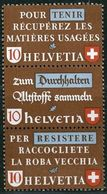 Schweiz Suisse 1942: Altstoff-Zusammendruck Se-tenant : Zu Z36b Mi SZd.10 ** Postfrisch MNH (Zu CHF 26.00) - Se-Tenant